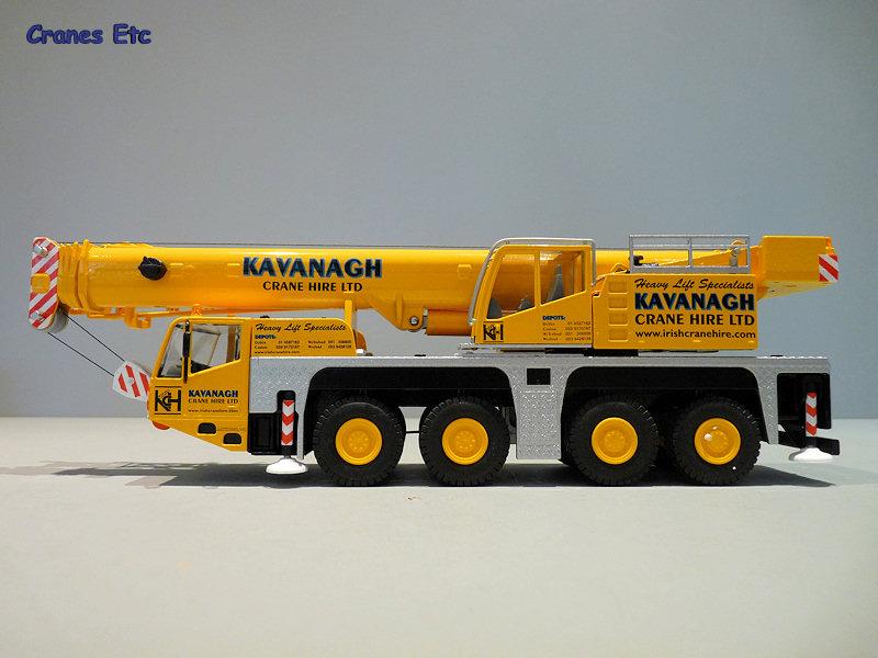 Conrad 2104 Terex Demag AC100/4 Kavanagh Cranes Etc Review
