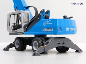 Conrad 2911/02 Terex Fuchs MHL 350E Loading Machine Cranes