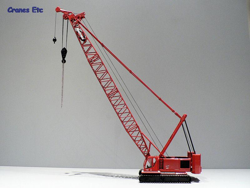 NZG 527 Manitowoc 555 Cranes Etc Review