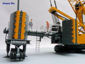 Nzg 7881 Liebherr Lr1300 Derrick Cranes Etc Review