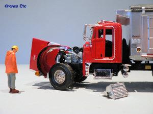 dump truck emergency steering