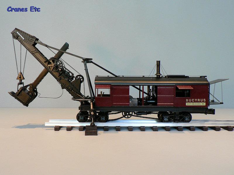 TWH 021 Bucyrus Steam Shovel Cranes Etc Review