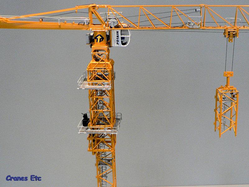 Tower Crane Climbing : Twh a potain mdt climbing cage cranes etc review