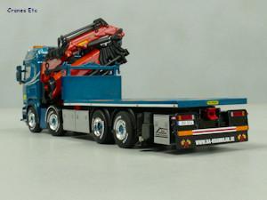 Scania R Streamline  Palfinger 150002 BA Perssons Kranbilar WSI Models 01-2421 1
