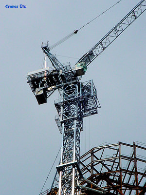 cranes etc photos comedil luffing tower crane