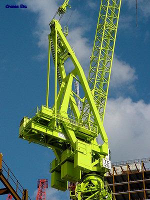 Cranes Etc Photos - Liebherr Luffing Tower Crane