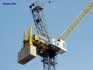 Cranes Etc Photos - Potain Luffing Tower Crane