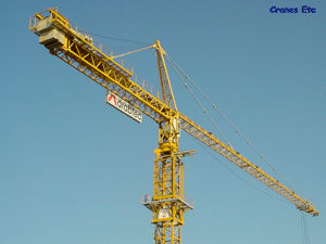Cranes Etc Photos - Potain Trolley Tower Crane